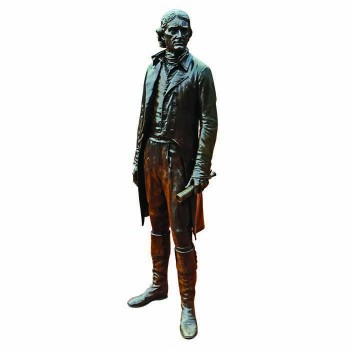 Thomas Jefferson Statue Cardboard Cutout - $0.00