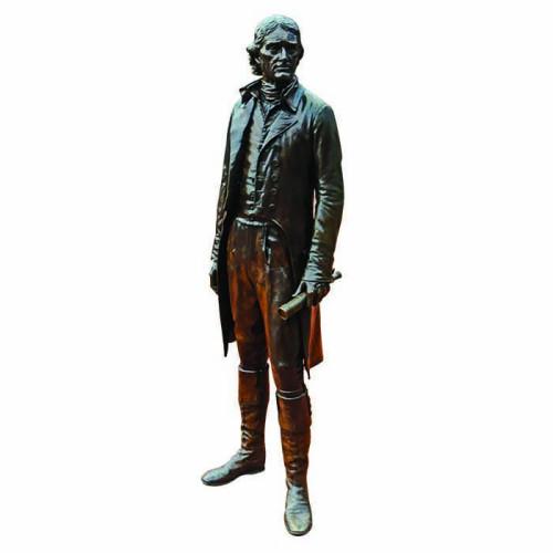 Thomas Jefferson Statue Cardboard Cutout