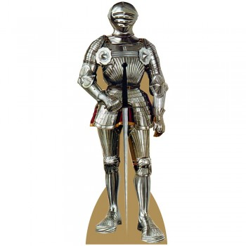 Knight In Shining Armor Cardboard Cutout - $0.00