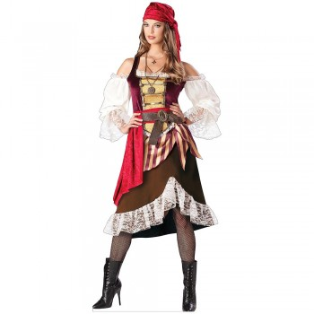 Pirate Female Cardboard Cutout - $0.00
