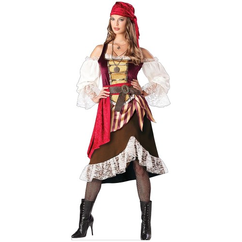 Pirate Female Cardboard Cutout