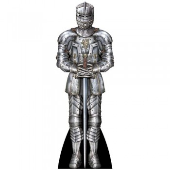 Suit Of Armor Cardboard Cutout - $0.00