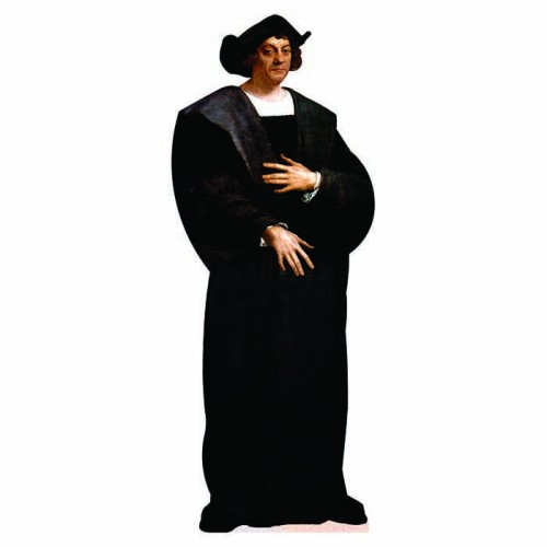 Christopher Columbus Cardboard Cutout
