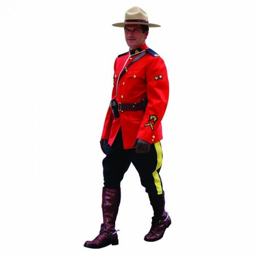 Royal Canadian Mounted Police Cardboard Cutout