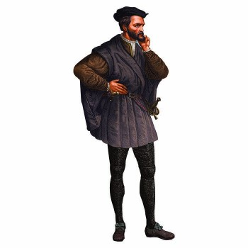 Jacques Cartier Cardboard Cutout - $0.00