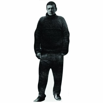 Earnest Shackleton Cardboard Cutout - $0.00
