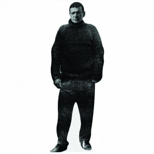 Earnest Shackleton Cardboard Cutout