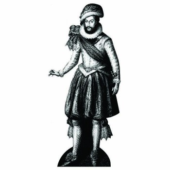 Sir Walter Raleigh Cardboard Cutout - $0.00