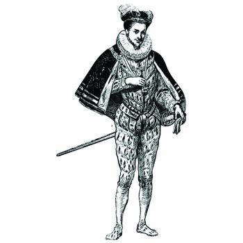 Sir Francis Drake Cardboard Cutout - $0.00