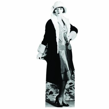 Flapper Girl 1 Cardboard Cutout - $0.00