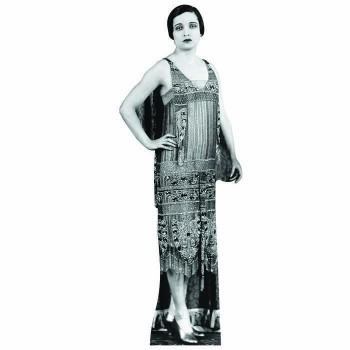 Flapper Girl 2 Cardboard Cutout
