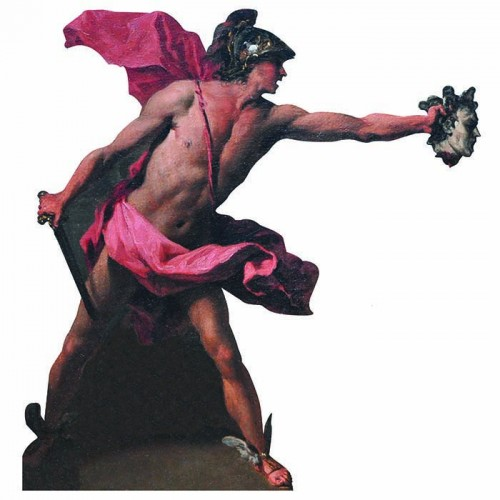 Perseus Greek Cardboard Cutout
