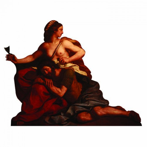 Samson and Delilah Cardboard Cutout