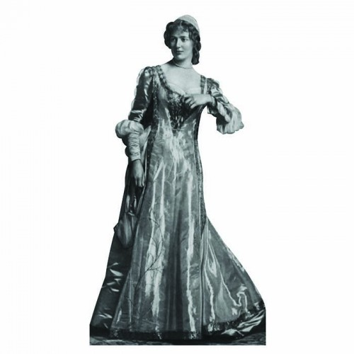 Beatrice Shakespeare Cardboard Cutout