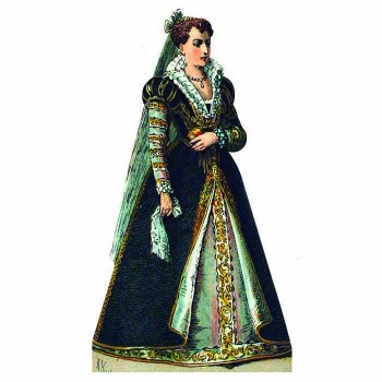 Lady Anne Shakespeare Cardboard Cutout - $0.00