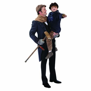 Tiny Tim and Bob Cratchit Cardboard Cutout - $0.00