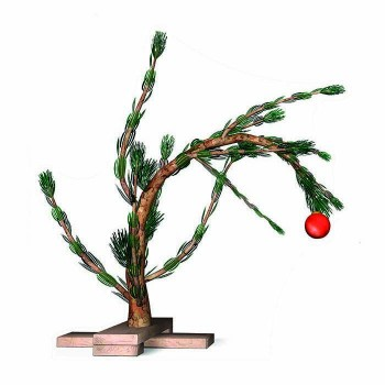 Charlie Brown Christmas Tree Cardboard Cutout