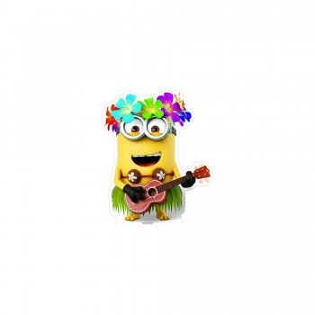 Hawaiian Minion Cardboard Cutout