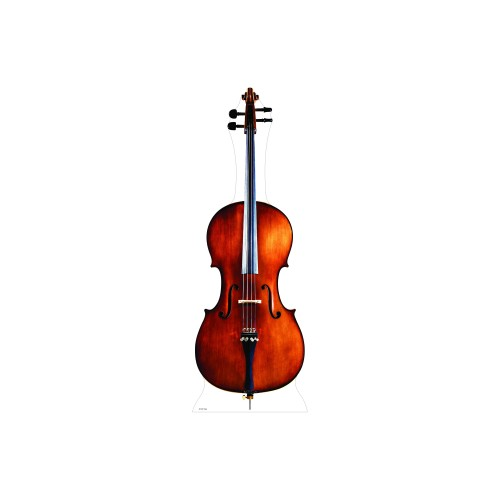 Cello Cardboard Cutout