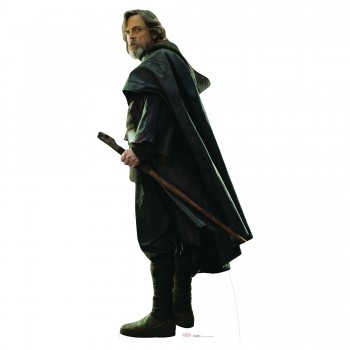 Luke Skywalker TLJ Cardboard Cutout