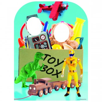 Boy Toy Box Stand In Cardboard Cutout - $44.95
