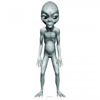 Grey Alien Star Mini Cardboard Cutout - $44.95