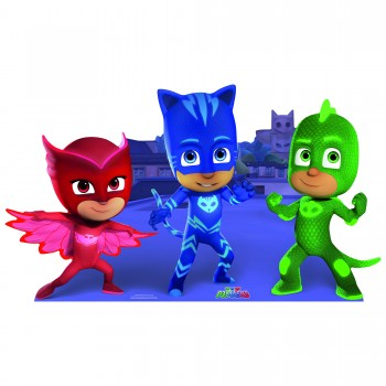 PJ Masks Group Cardboard Cutout