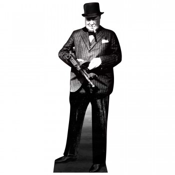 Winston Churchill Cardboard Cutout - $44.95