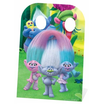 Right Trolls Stand In Trolls Cardboard Cutout