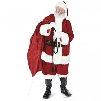 Santa with Sack of Toys Cardboard Cutout - $44.95