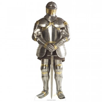 Knight In Armour Cardboard Cutout
