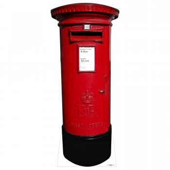 Post Box Cardboard Cutout - $44.95