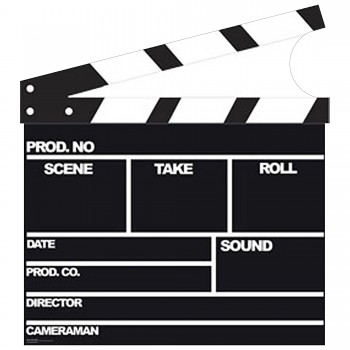 Film Clapper Cardboard Cutout - $44.95