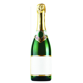 Bottle of Champagne Cardboard Cutout - $44.95