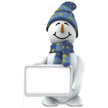 Snowman Cardboard Cutout - $44.95
