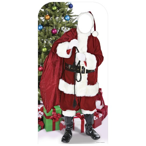 Father Christmas Stand In Cardboard Cutout