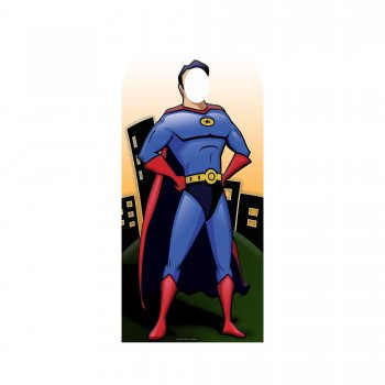 Superhero Stand In Cardboard Cutout - $44.95