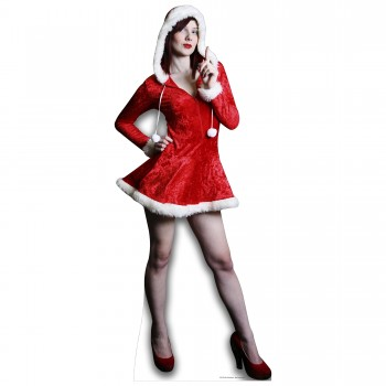 Mrs Christmas Cardboard Cutout - $44.95