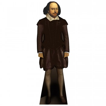 William Shakespeare Cardboard Cutout - $44.95