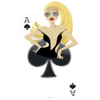 Spades Babe Cardboard Cutout - $44.95