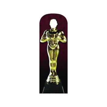 Award Statue Stand In Cardboard Cutout - $44.95