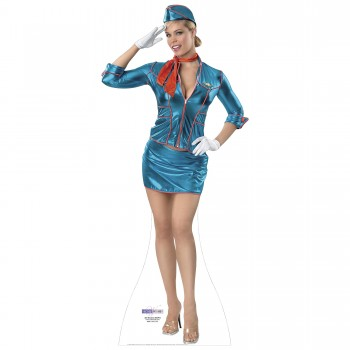 Air Hostess Cardboard Cutout