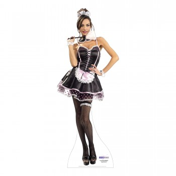 French Maid Cardboard Cutout