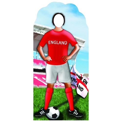 European Football Stand In Cardboard Cutout