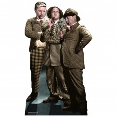 Three Stooges Sleuths Cutout