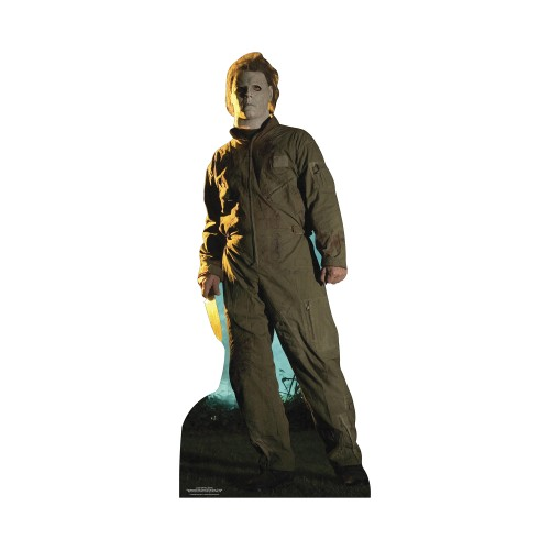 Halloween with Michael Myers Cardboard Cutout