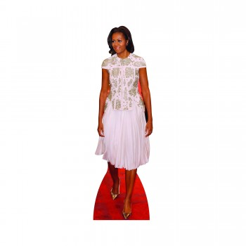 First Lady Michelle Obama Dress Cardboard Cutout - $44.95