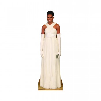 First Lady Michelle Obama Formal Cardboard Cutout - $44.95