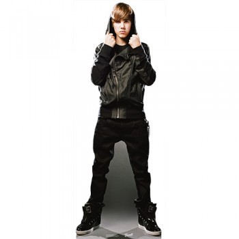 Justin Bieber My World Cardboard Cutout