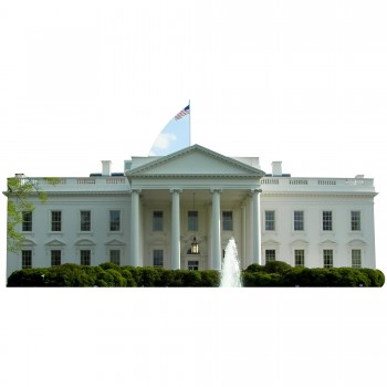 The White House Cardboard Cutout - $44.95